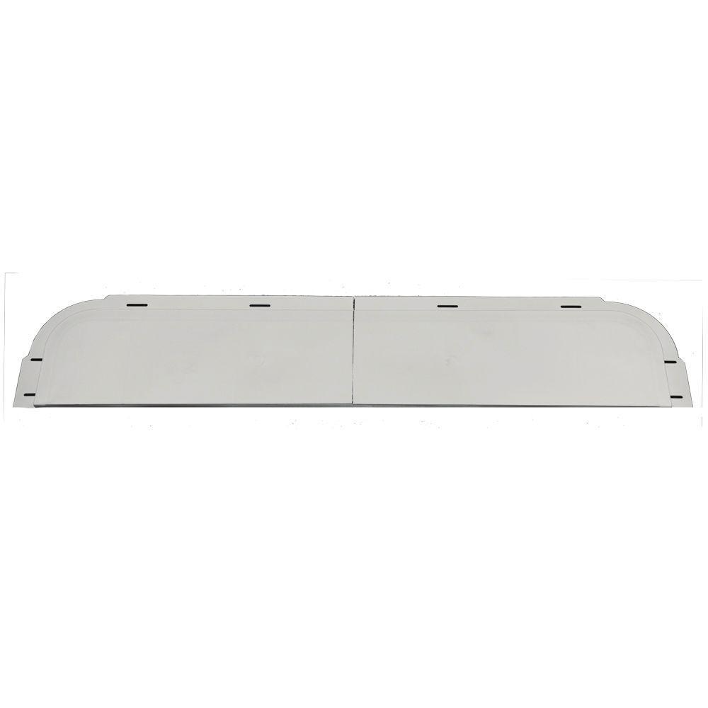 6 in. x 33 5/8 in. J-Channel Back-Plate for Window Header