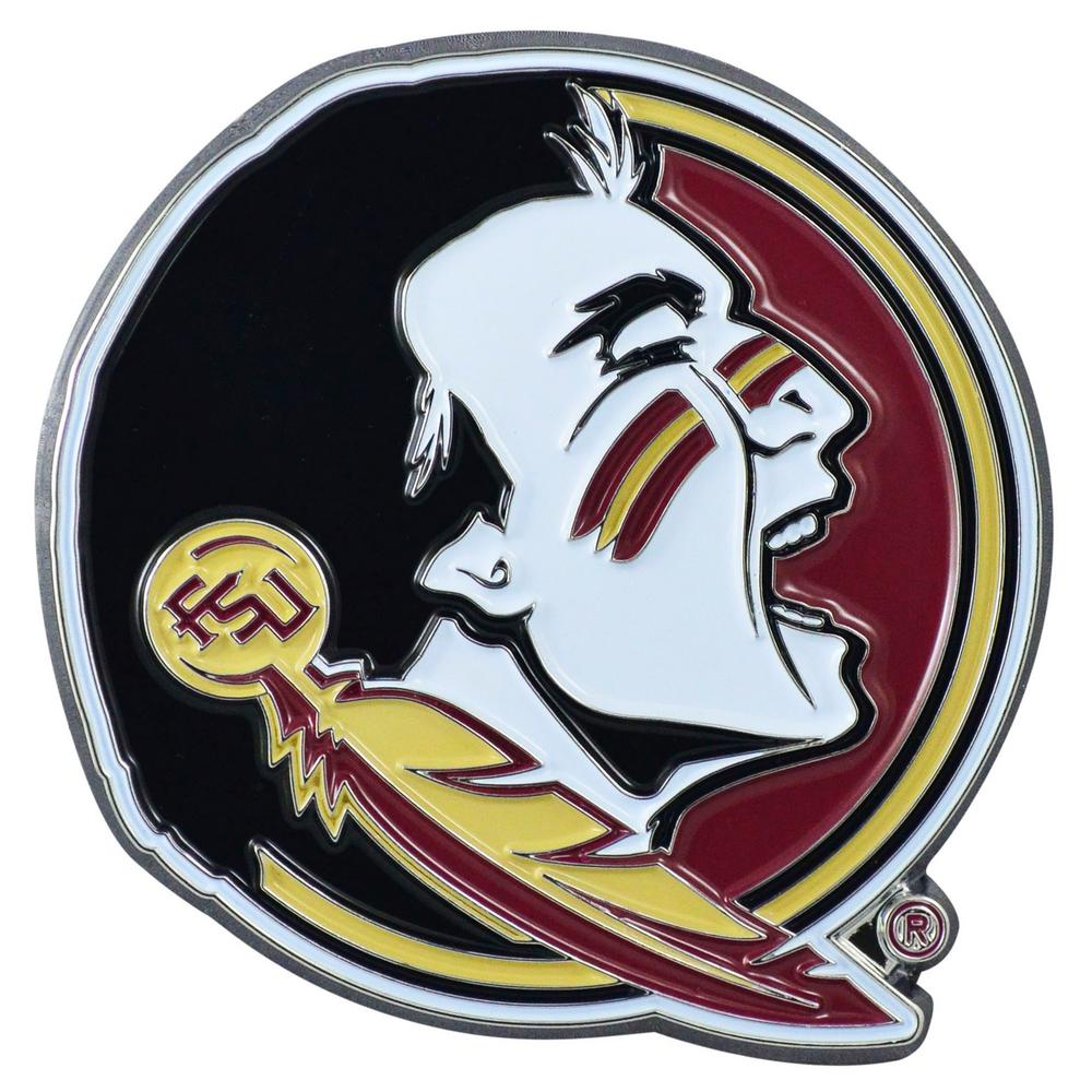 FANMATS 3 in. x 3.2 in. NCAA Florida State University Color Emblem