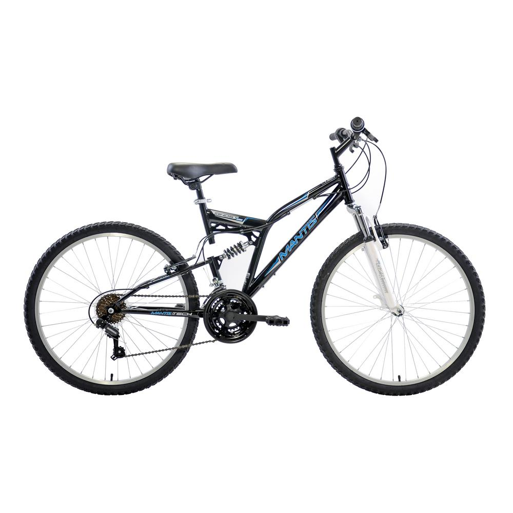 Ghost Full Suspension Mountain Bike, 26 in. Wheels, 18 in. Frame,