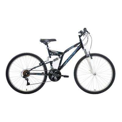 Ghost Full Suspension Mountain Bike, 26 in. Wheels, 18 in. Frame, Men's Bike in Black