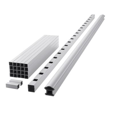 ArmorGuard Classic 94 in. White Composite Rail Kit