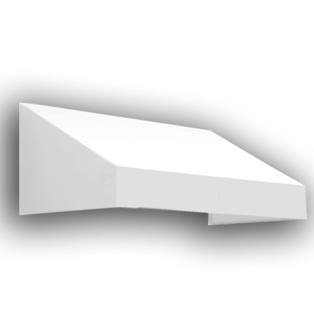 AWNTECH 6 ft. New Yorker Window/Entry Awning (24 in. H x 48 in. D) in Off-White