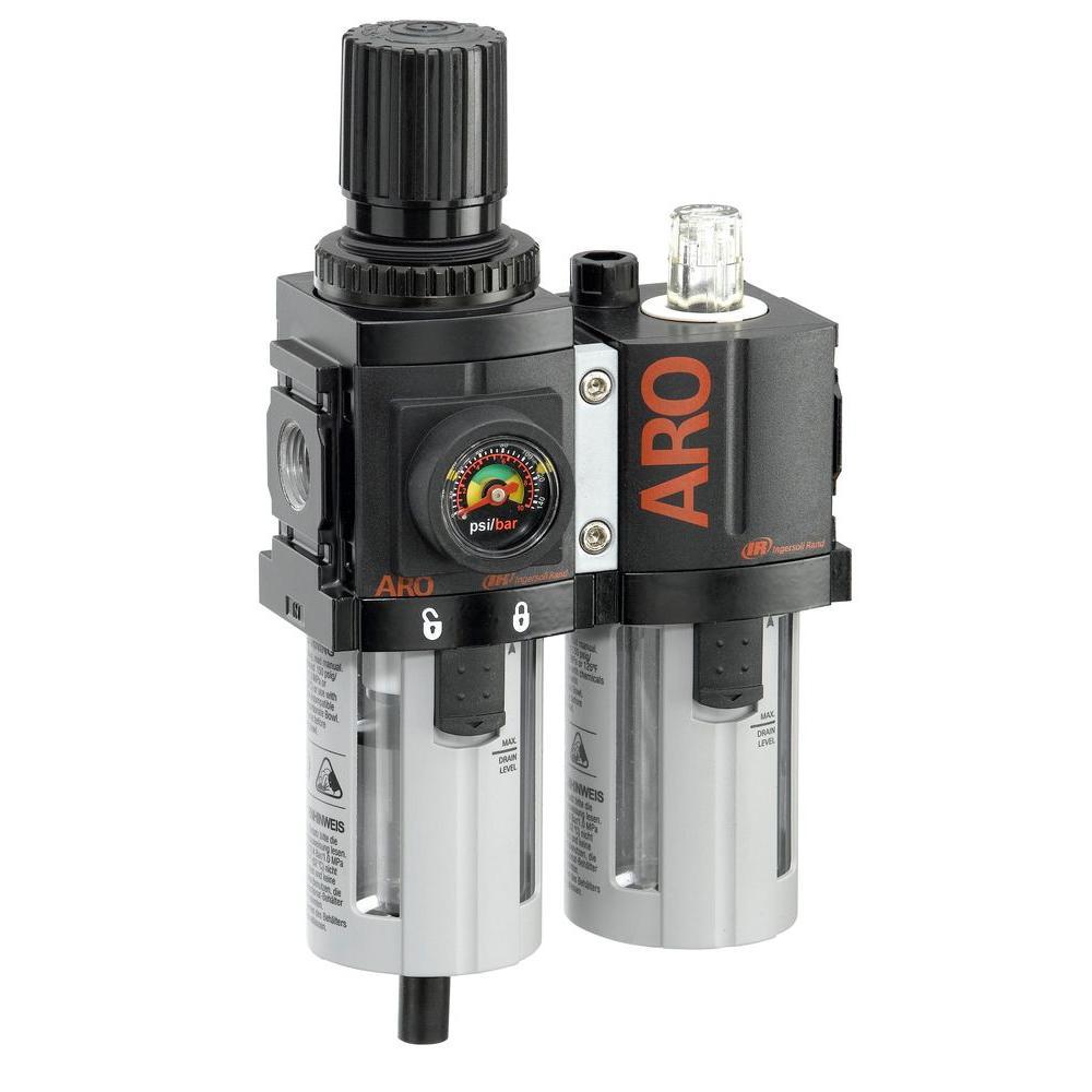 1500-Series 3/8 in. F/R+L Combination Unit Port