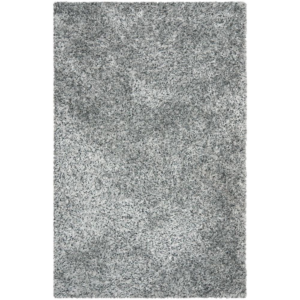 Safavieh Malibu Shag Silver 8 ft. x 10 ft. Area Rug
