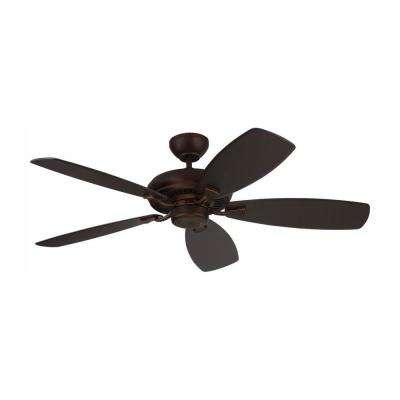 Designer Max 52 in. Roman Bronze Ceiling Fan