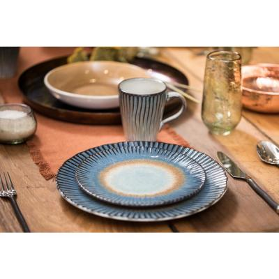 Portura Sunrise 16-Piece Multi Dinnerware Set