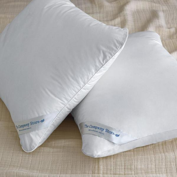 The Company Store LaCrosse Medium Duck Down King Pillow PP55-K-WHITE