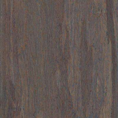 Take Home Sample - Strand Woven Mystic Grey Solid Bamboo Flooring - 5 in. x 7 in.