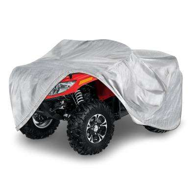 Solar Polypropylene 83 in. x 47 in. x 34 in. Large ATV Cover