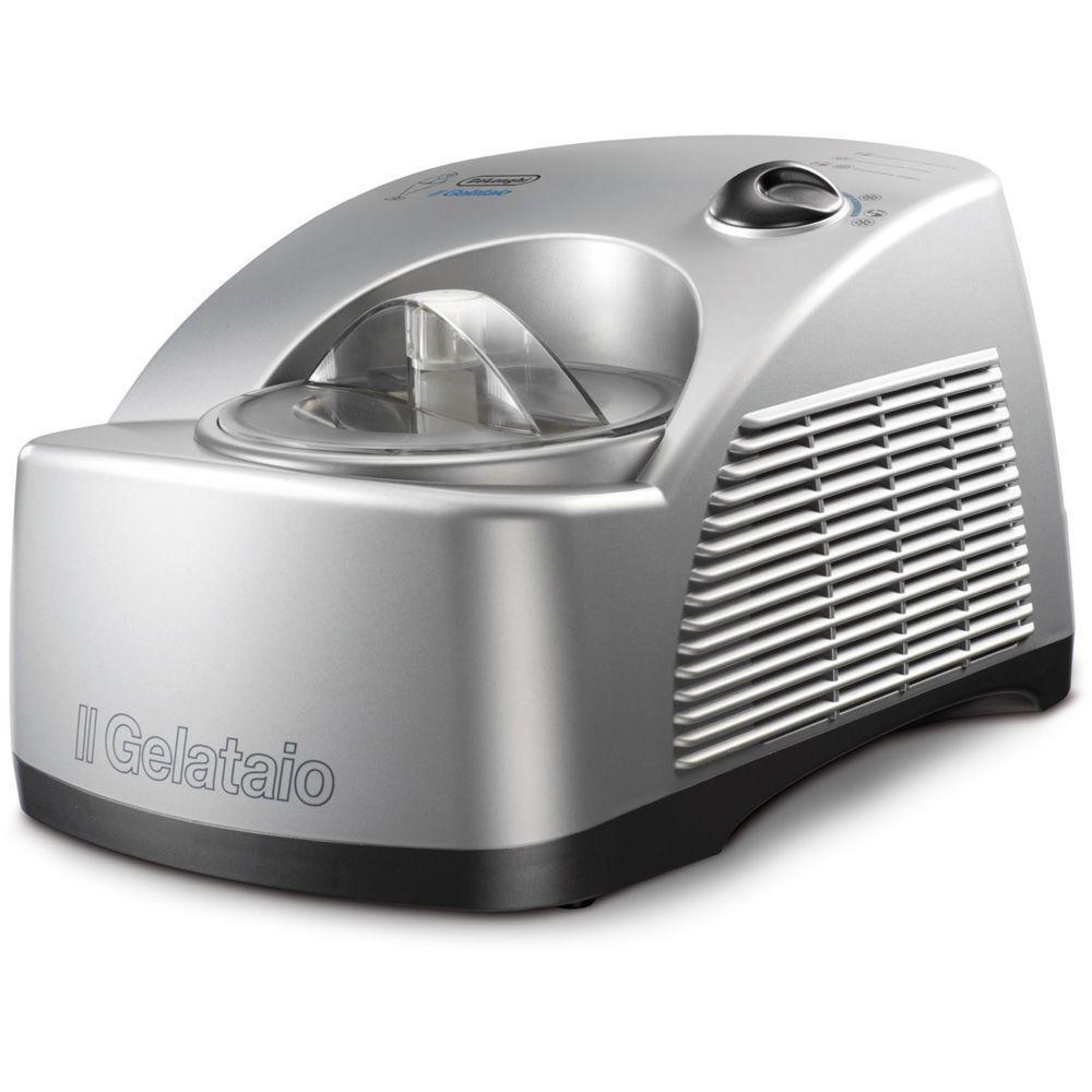 DeLonghi 1.5-Pint Gelato Maker with Self-Refrigerating Compressor