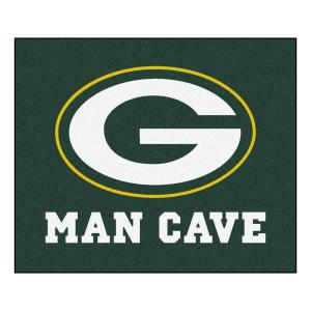 1221004e15f FANMATS Green Bay Packers 3 ft. x 6 ft. Football Field Rug Runner ...