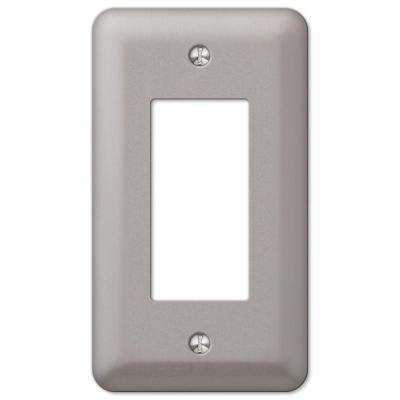 Declan 1 Rocker Wall Plate - Pewter