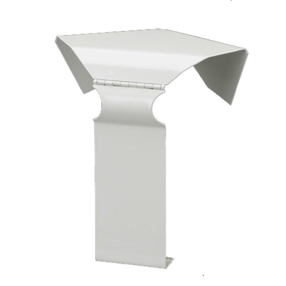 Fine/Line 30 135-Degree Inside Corner for Baseboard Heaters in Nu White