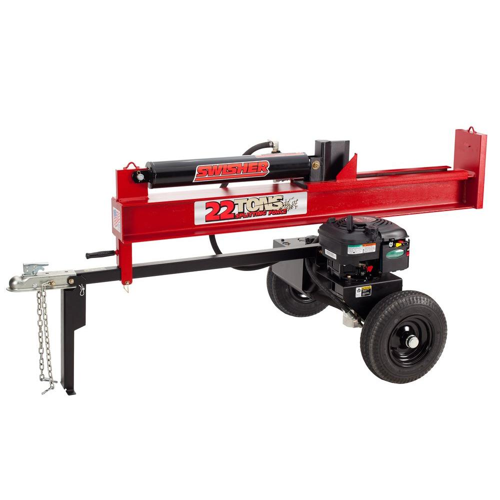 Swisher 190 cc 22-Ton Gas Log Splitter-DISCONTINUED