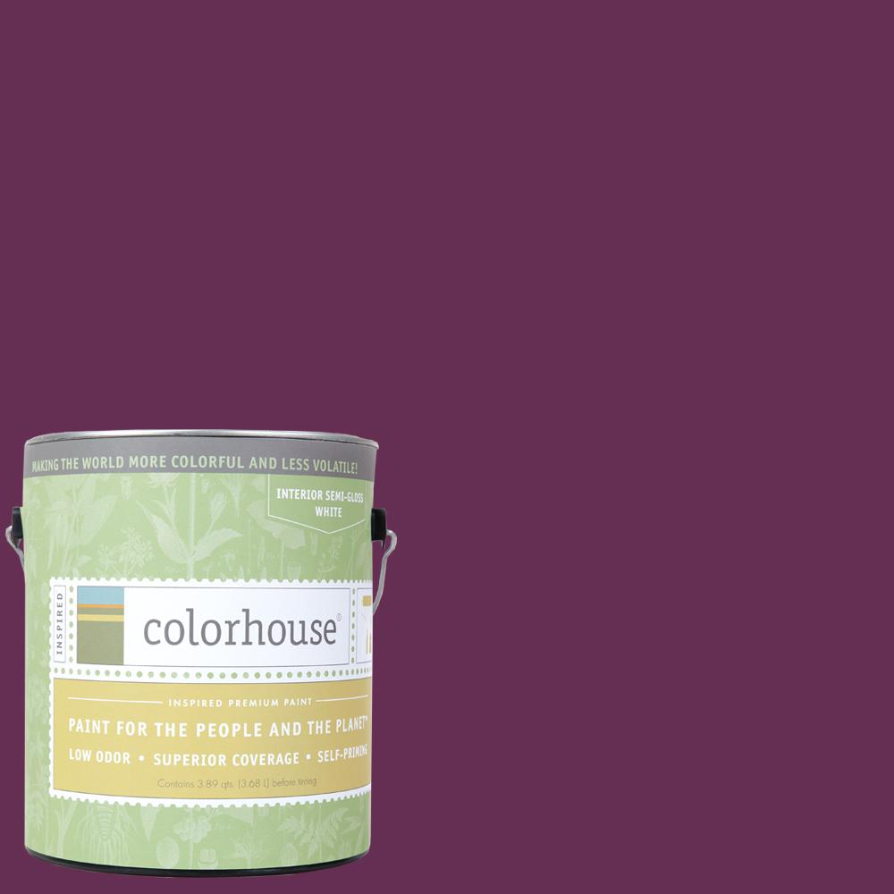 Colorhouse 1 Gal Petal 07 Semi Gloss Interior Paint 463578 The Home Depot