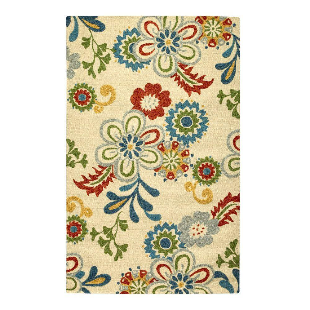 This Review Is From:Tilly Ivory 8 Ft. X 10 Ft. Area Rug