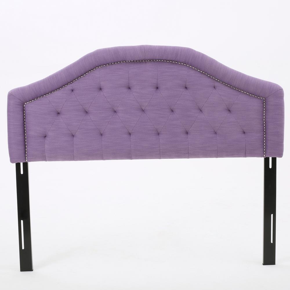 Florence Light Purple Fabric Queen/Full Headboard