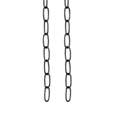Aspen Creative 21304-6 3 Feet Beaded Pull Chain with Connector 6 3 6 6 Pack Brushed Pewter