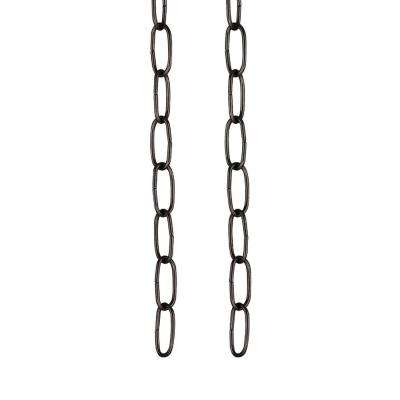 36 in. 11-Gauge Oil Rubbed Bronze Light Fixture Chain (2-Pack)