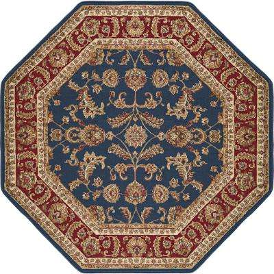Octagon Transitional Area Rug