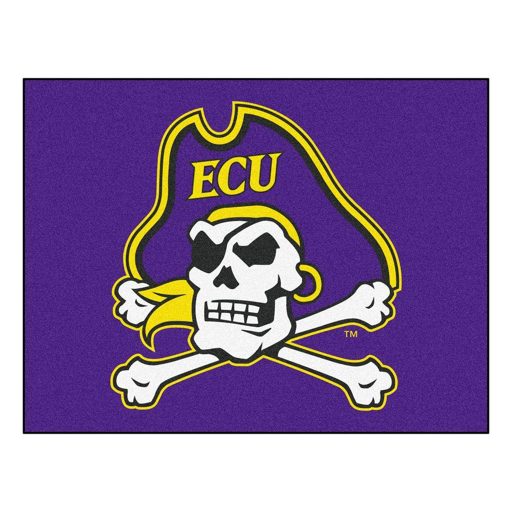 FANMATS East Carolina University 2 ft. 10 in. x 3 ft. 9 in. All-Star Rug