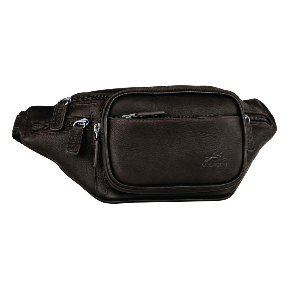 Classic 12 in. Black Waist Bag