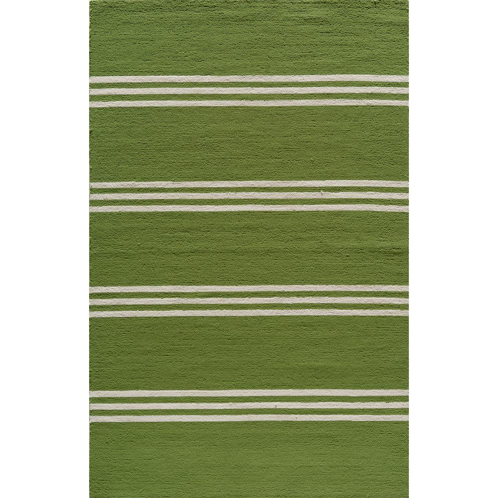 Cool Lime Green Rug: Mohawk Home Avenue Stripe 5 Ft. X 8 Ft. Indoor/Outdoor