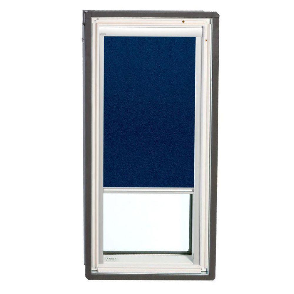 VELUX Dark Blue Solar Powered Blackout Skylight Blinds for FS S06 Models