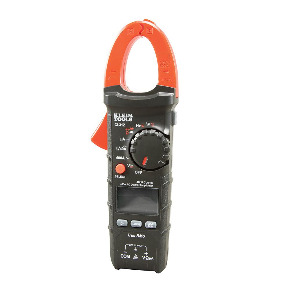The Best Hvac Clamp Meter : Klein tools a ac auto ranging digital clamp meter for