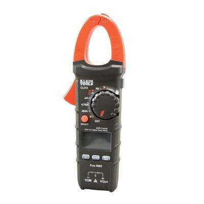 400A AC Auto-Ranging Digital Clamp Meter for HVAC