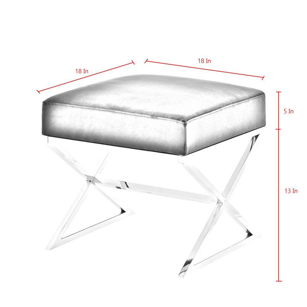 Phenomenal Inspired Home Elora Black Gold Upholstered X Leg Velvet Dailytribune Chair Design For Home Dailytribuneorg