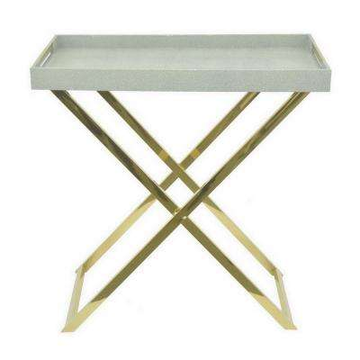 Mint In Green Folding Tray Table