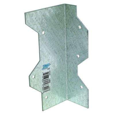 ZMAX 5 in. 16-Gauge Galvanized Reinforcing L-Angle