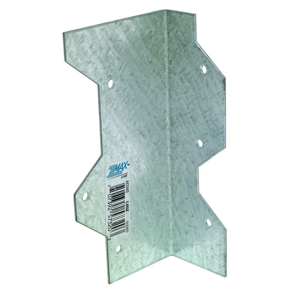 Simpson Strong-Tie ZMAX 5 in. 16-Gauge Galvanized Reinforcing L-Angle