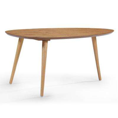 Maddox Natural Wood Coffee Table