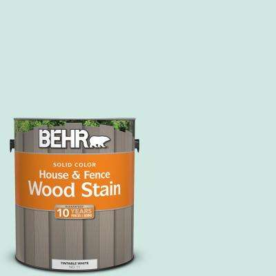1 gal. #HDC-CT-26A Seaglass Solid Color House and Fence Exterior Wood Stain