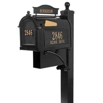 Ultimate Black Streetside Mailbox