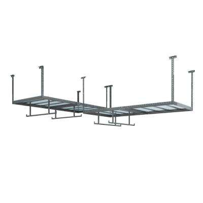 VersaRac Set with 2-Overhead Rack and 4-Piece Accessory Kit