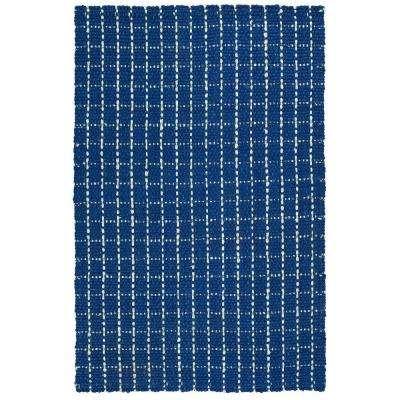 Paloma Navy 1 ft. 8 in. x 2 ft. 6 in. Area Rug