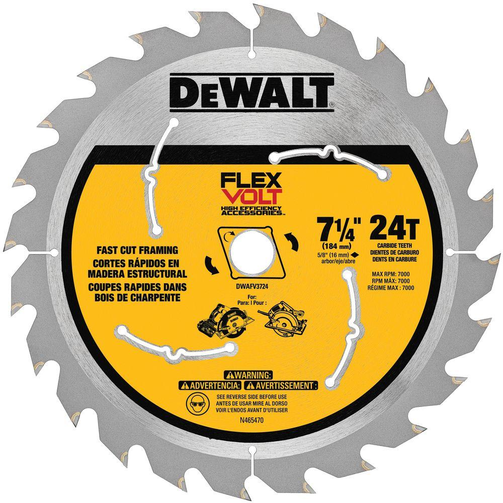Dewalt 7 in concrete and brick diamond circular saw blade dw4702 24 teeth circular saw blade greentooth