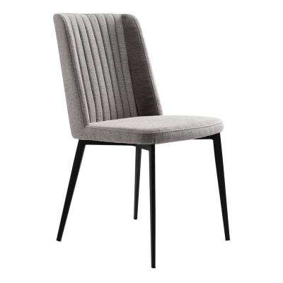 Maine Gray Fabric Dining Chair - Set of 2