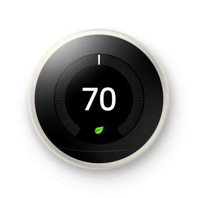Nest Learning Thermostat 3rd Gen in White