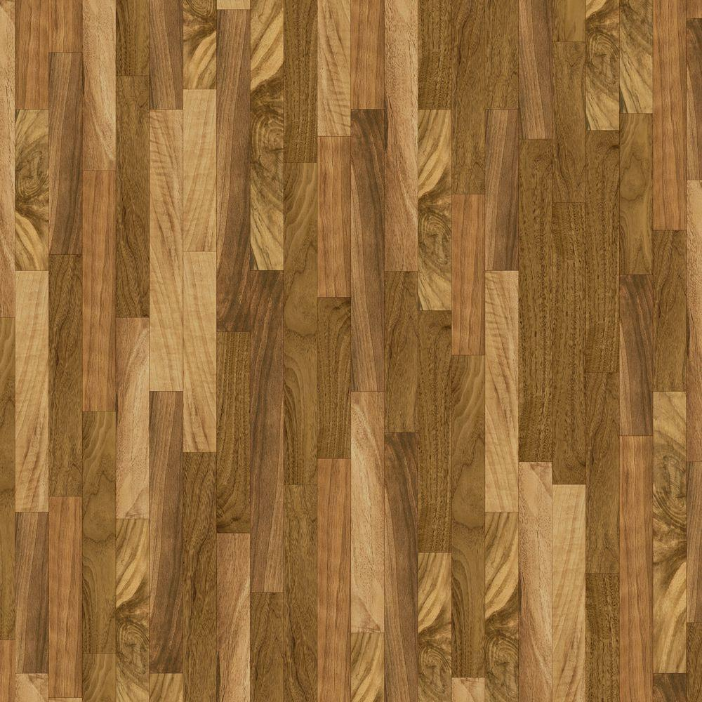 10 ft. Wide x Your Choice Length Natural Walnut Vinyl Universal
