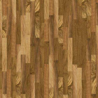 10 ft. Wide x Your Choice Length Natural Walnut Vinyl Universal Flooring