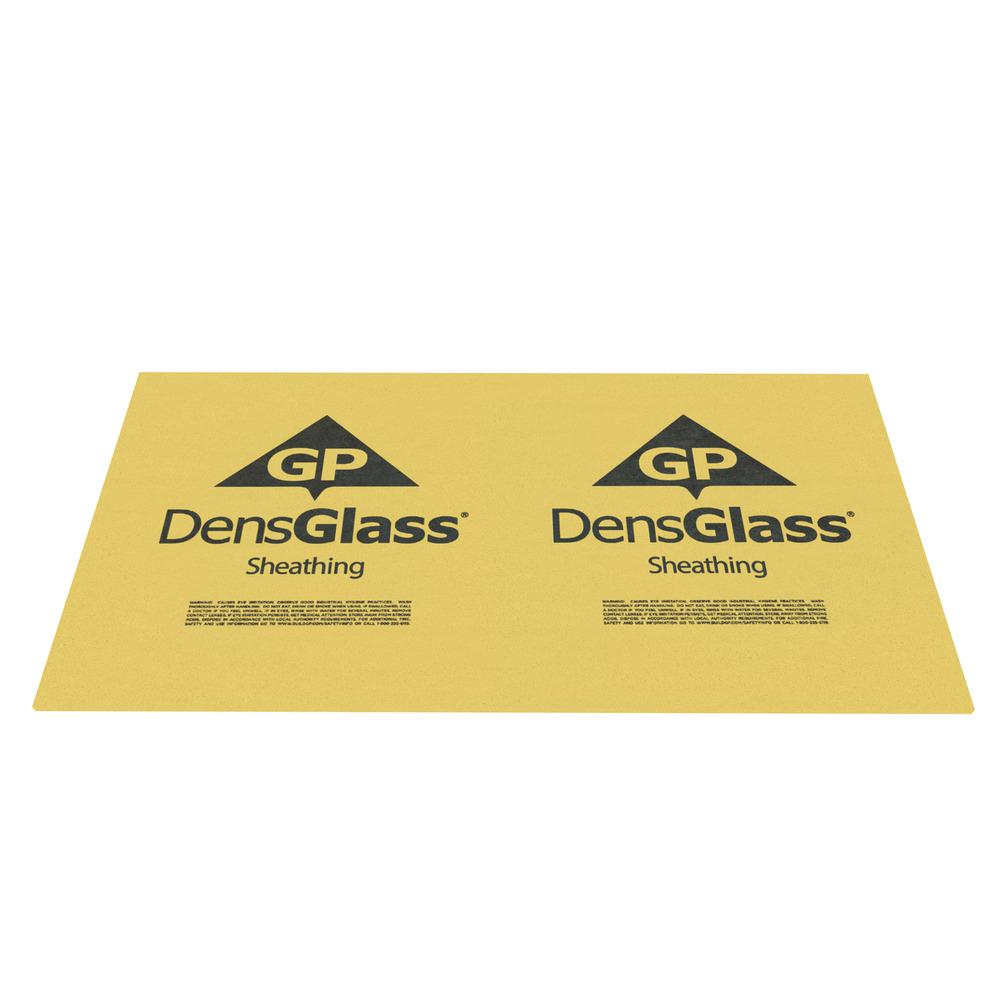 DensGlass 5/8 in. x 4 ft. x 8 ft. Exterior Wall Sheathing
