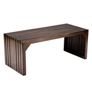 Deals on Southern Enterprises Clermont Slat Bench/Table