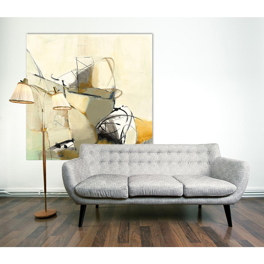 54 In X Study No 127 By Cj Anderson Printed Framed Canvas Wall Art