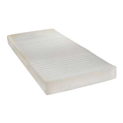 80 in. x 36 in. x 6 in. Therapeutic Foam Pressure Reduction Support Mattress