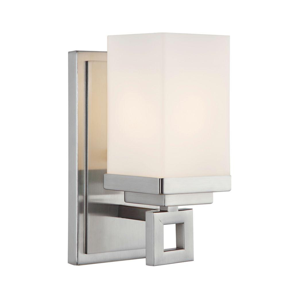 Golden Lighting Nelio Collection 1-Light Pewter Sconce