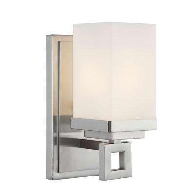 Nelio Collection 1-Light Pewter Sconce